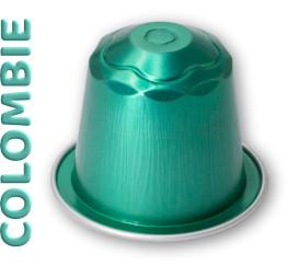 capsules compatibles Nespresso ® Colombie de la marque Relief