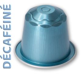 Capsules compatibles Relief Aluminium décaféiné